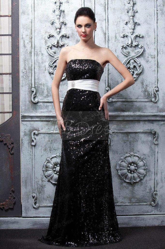 TBdress Reviews for Strapless Long Evening Dress Tbdress