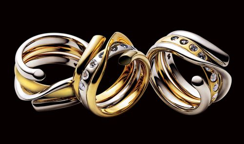 The Experience Of Georg Jensen Ring Jewel and Eternity rings