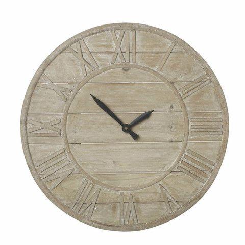 Wood Weathered effect Clock