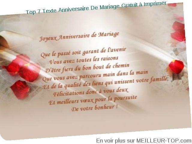 carte anniversaire 30 ans de mariage