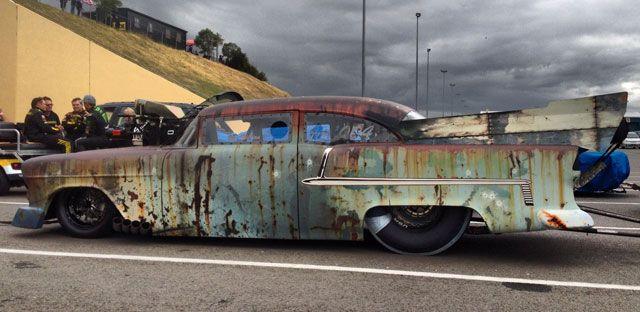 Vinyl Wraps Amp Graphics Rust Wrap On 55 Chevy