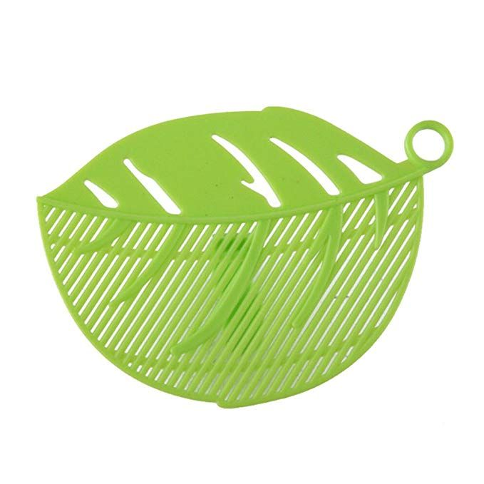 Kitchen Gizmo Snap N Strain Strainer Clip On Silicone