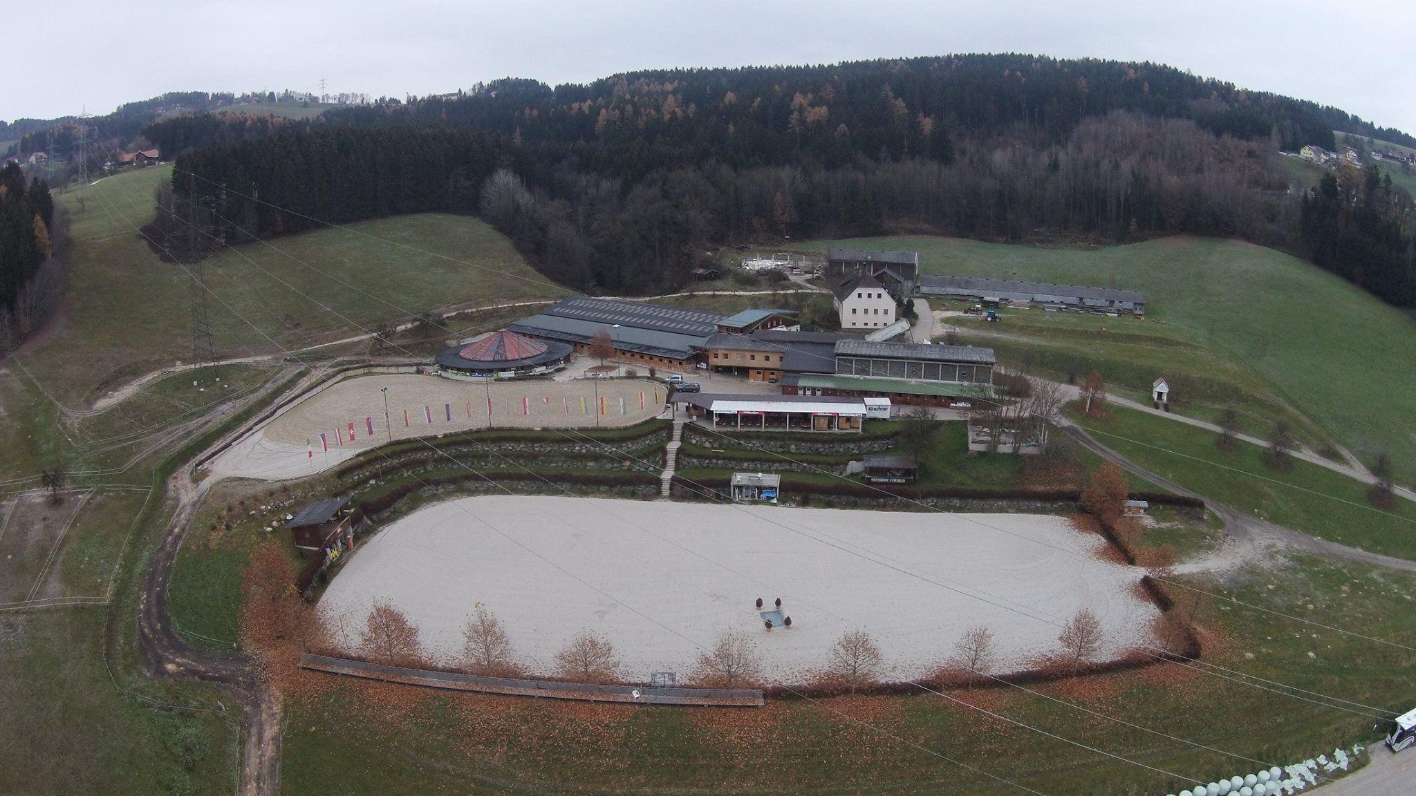 Equestrian centre.  Reiterhof Stückler (Austria)