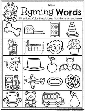 Rhyming Words for Kids - Planning Playtime