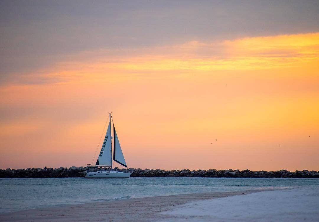 Sail Into The Sunset Gulfcoastbaydreams Experiencepcola Pensacola Perdidokey Sailing Sunsetphotos Su Sunset Photos Beautiful World Beautiful Sunset