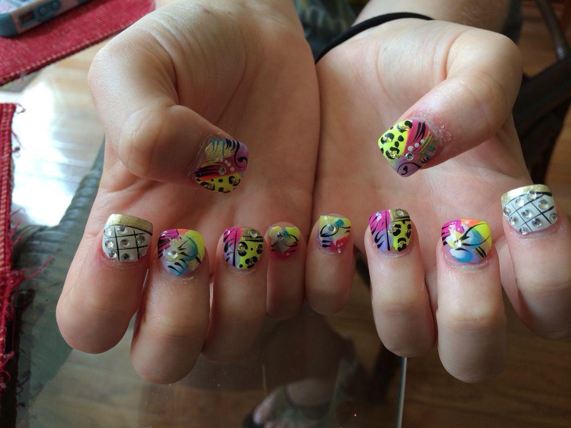 Love Junk Nails Nail Designs Pinterest