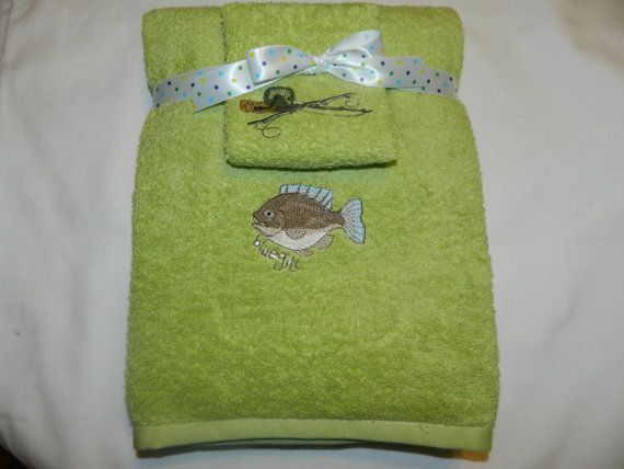 Fishing Themed Personalized Embroidered Kids By Mbroiderybymichele