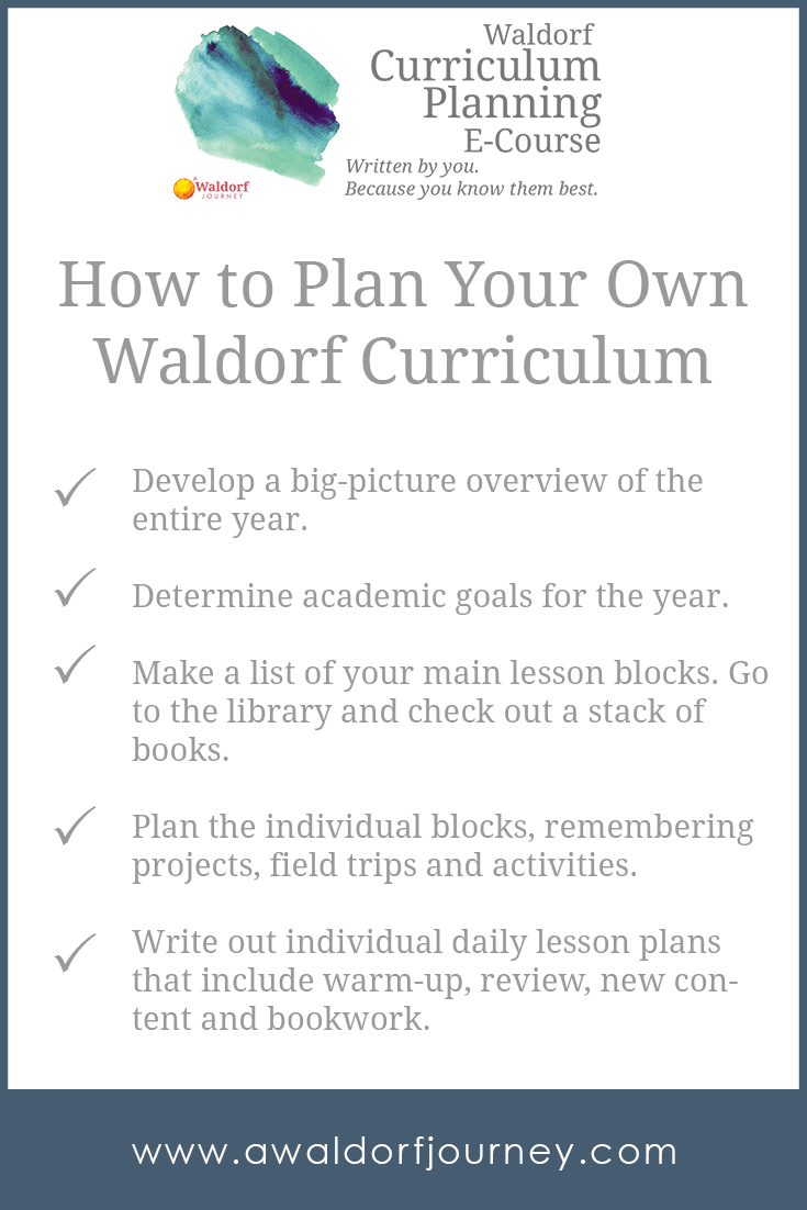 Photo of Waldorf Curriculum Planning E-Course – A Waldorf Journey