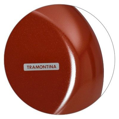 Tramontina Style - Simple Cooking 10 Fry Pan - Spice Red, Durable
