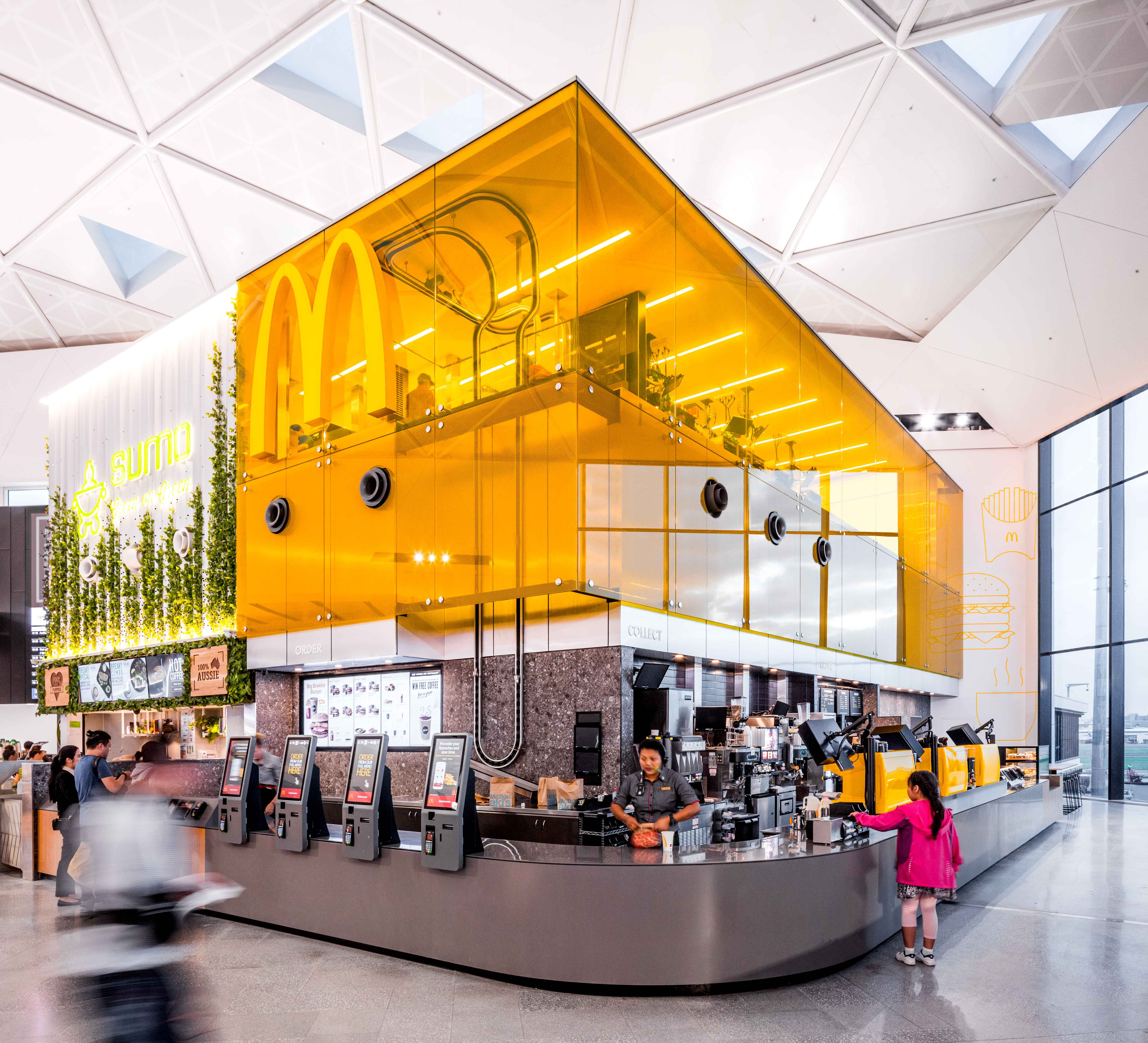 Mcdonald 39 s sydney international airport in 2019 for International decor surfaces