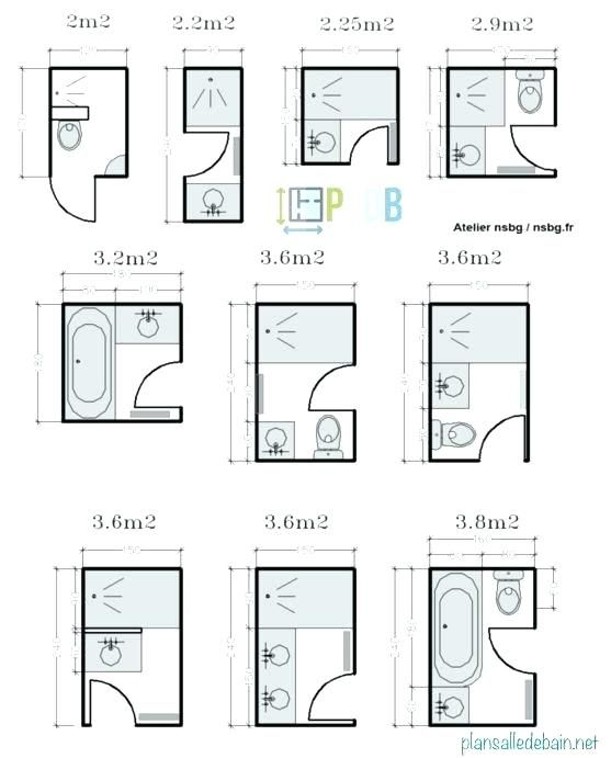 Plan salle de bain 7m2 home decor in 2019 small bathroom floor plans bathroom floor plans - Plan salle de bain 7m2 ...