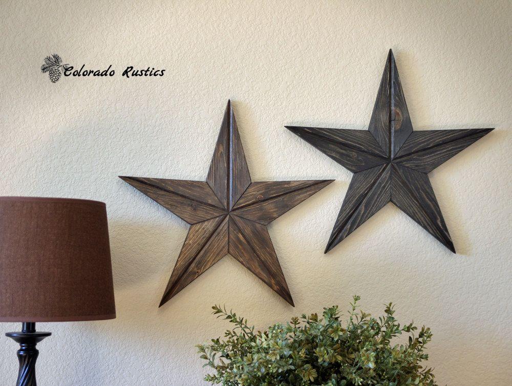 Rustic Star, Wood Wall Art, Texas Star Décor, Country Star ...