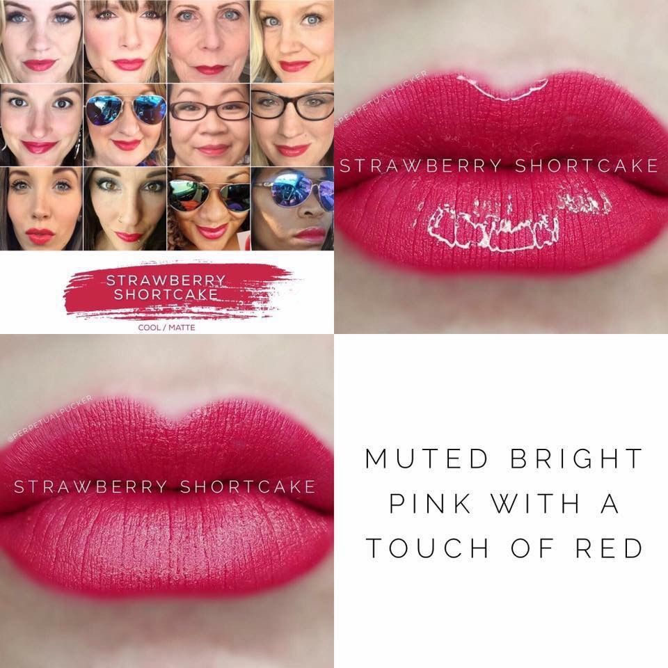 Strawberry shortcake lip colours pinterest lips