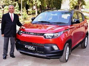 Mahindra Launches The Kuv100 Anniversary Edition Priced At Rs