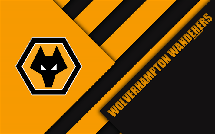 Download Wallpapers Wolverhampton Wanderers FC, Logo, 4k