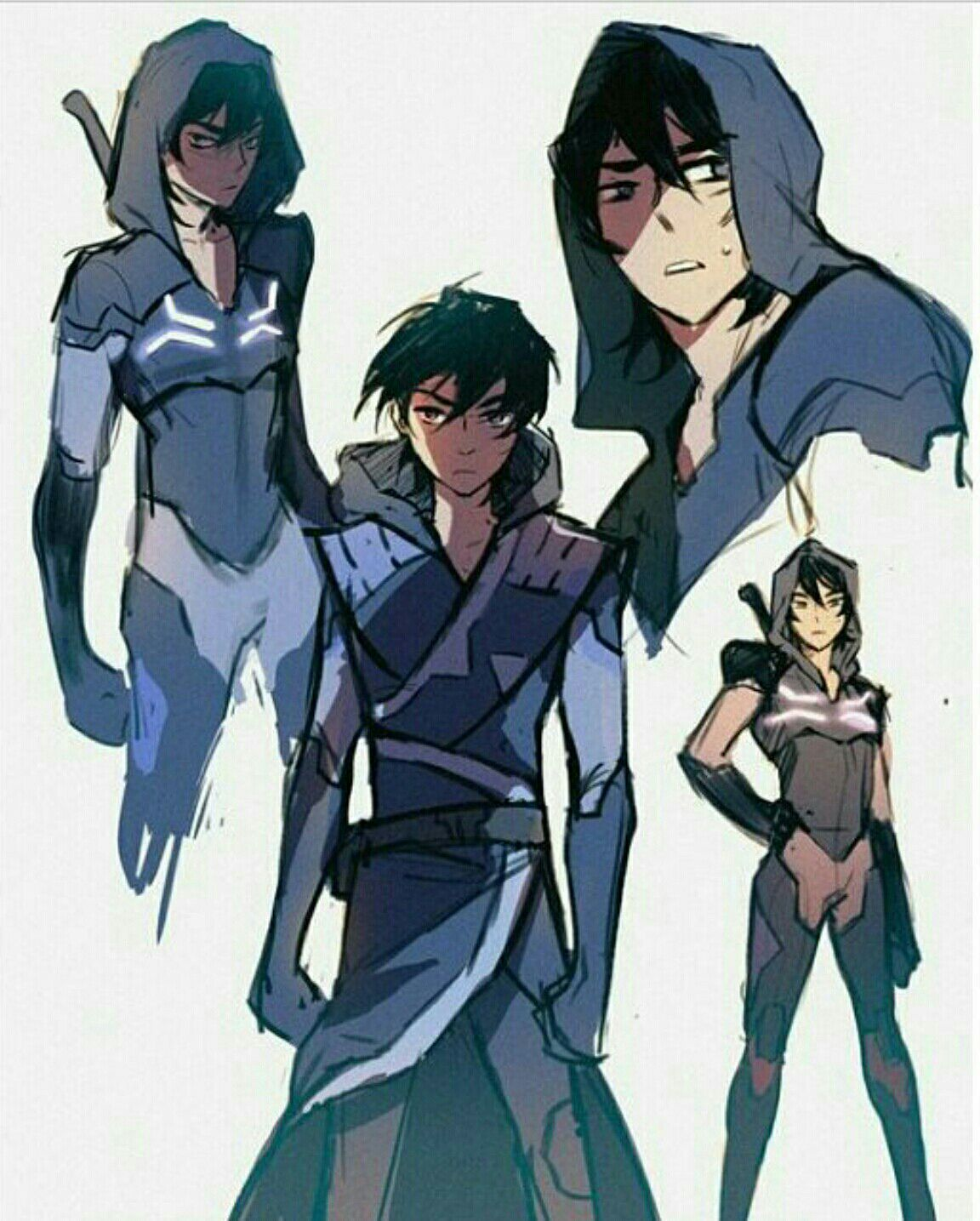 Discontinued)Not The Monster   Keithy   Voltron klance