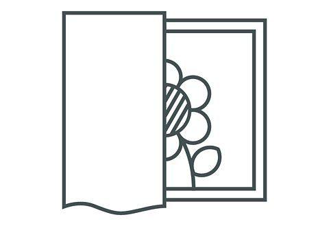 Vorhang »Barletta«, , Kräuselband (1 Stück) #diycurtains