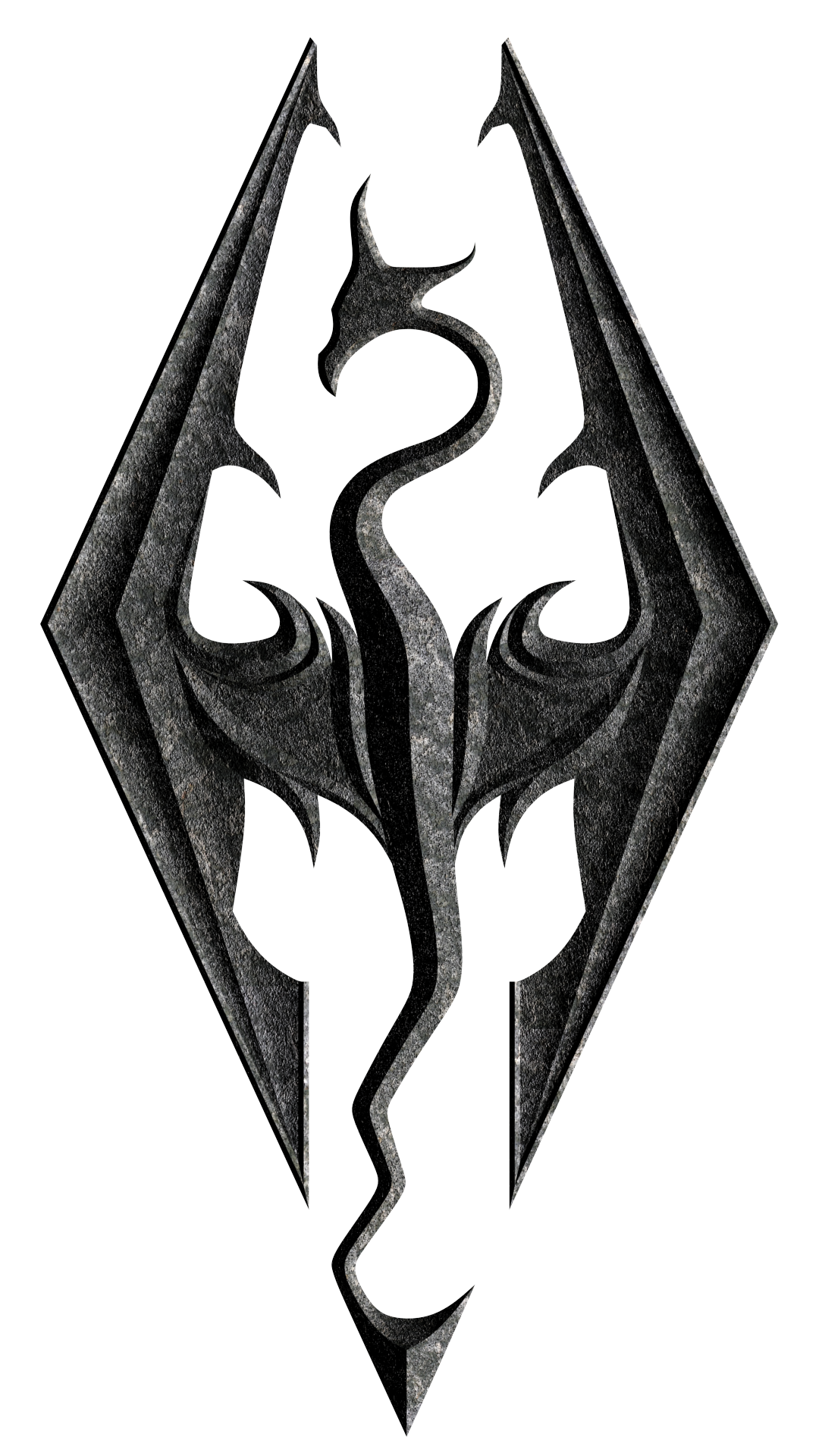 Skyrim Dragon Symbol Google Search Skyrim Pinterest Skyrim