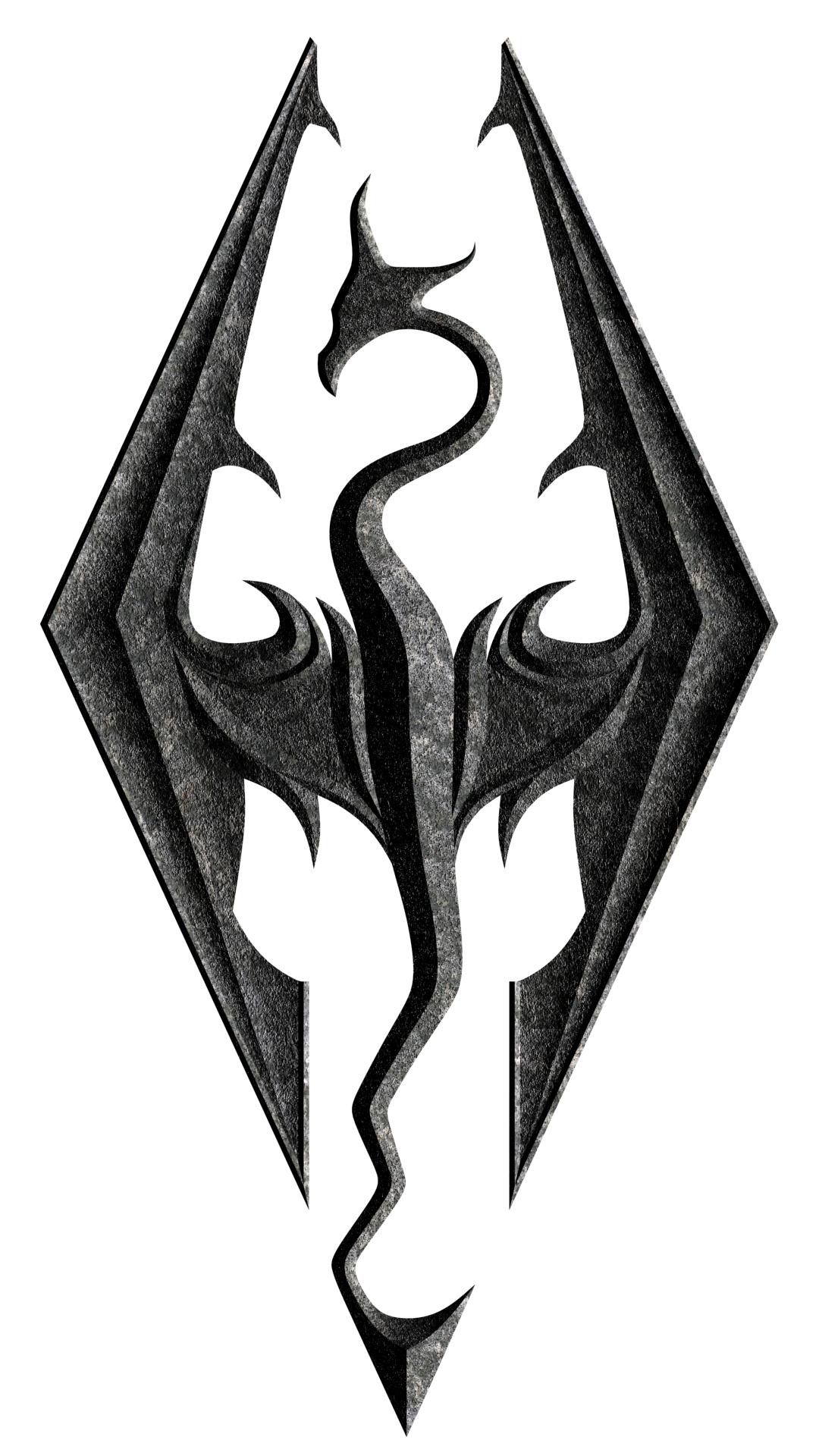 skyrim dragon symbol Google Search Skyrim Pinterest