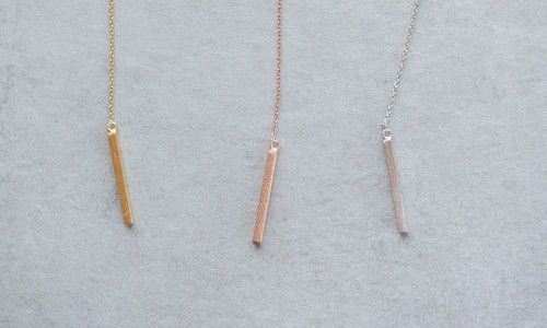 Triangle Pull Necklace-$11.55