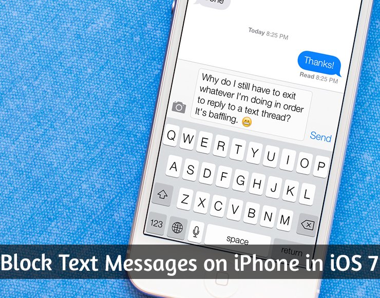 How To Block Text Messages on iPhone in iOS 7 | Android
