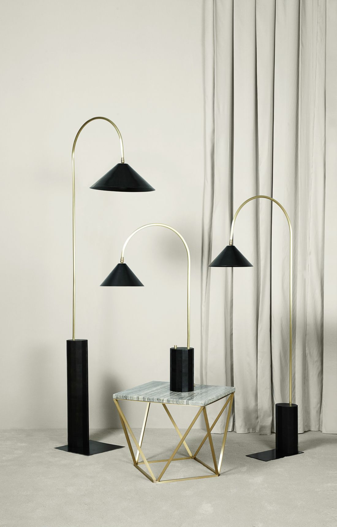 Coil + Drift Introduces New Objects for Spring | Floor lamp ...