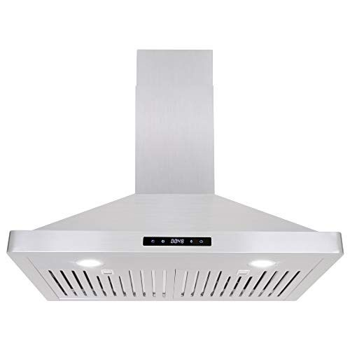Cosmo 63175s 30 In Wall Mount Range Hood 760 Cfm With Ducted