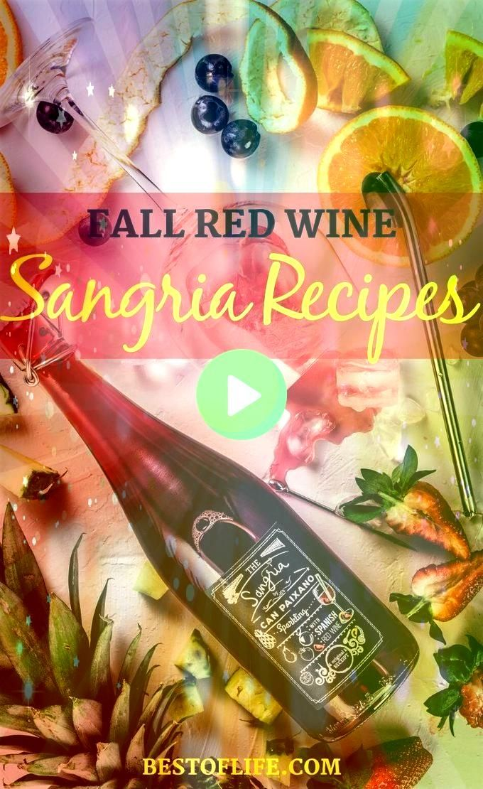 Red Wine Sangria Recipes Fall red wine sangria recipes are perfect to cozy up with on chilly days and share with friends and family during holidays and gatherings Wine Dr...