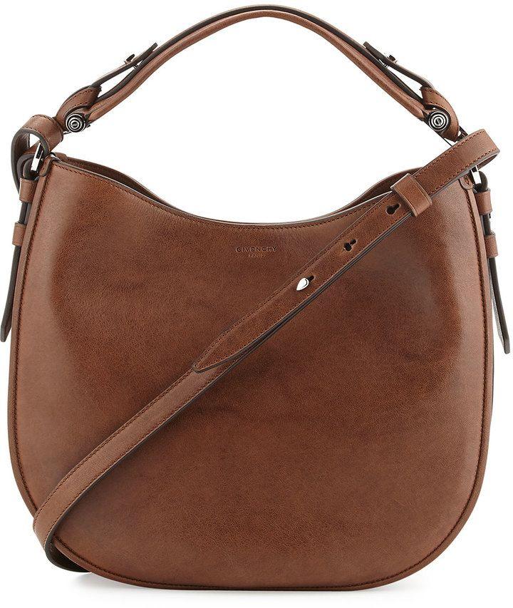 46aba5bee4 Cartera Givenchy Obsedia Small Leather Hobo Bag