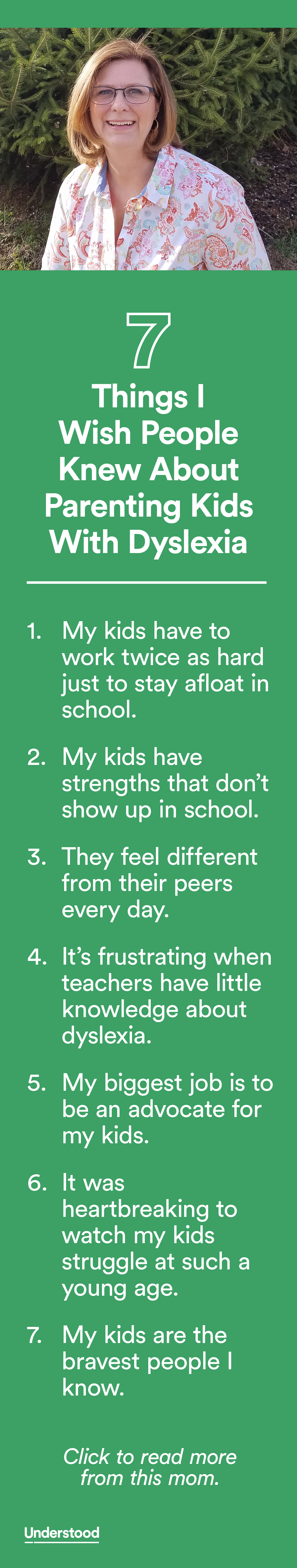 Teachers Misunderstand Dyslexia >> 7 Things I Wish People Knew About Parenting Kids With Dyslexia