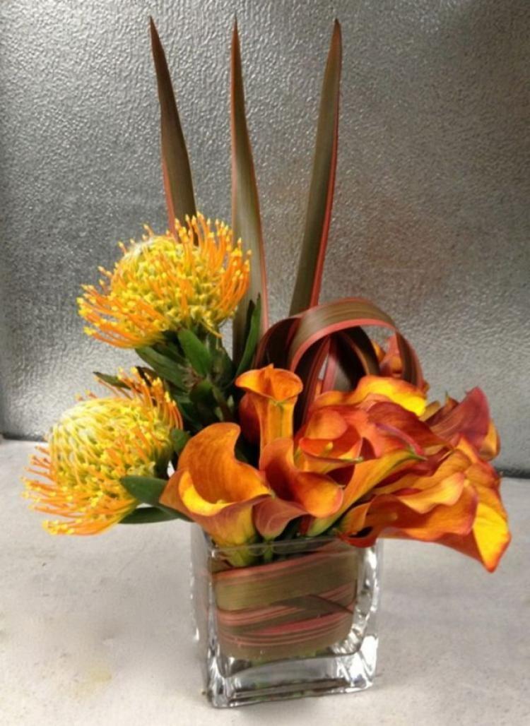 60 beautiful fall flower arrangements ideas tropical
