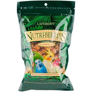 Lafeber S Nutri Berries Tropical Fruit For Parakeets Cockatiels