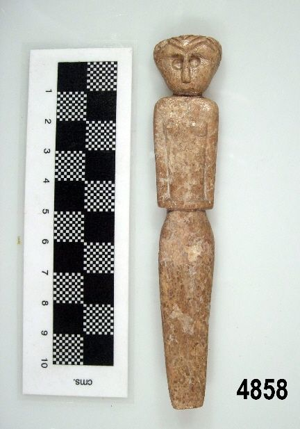 Idolo figura femenina calcol tico marroquies bajos - Maderas moral jaen ...
