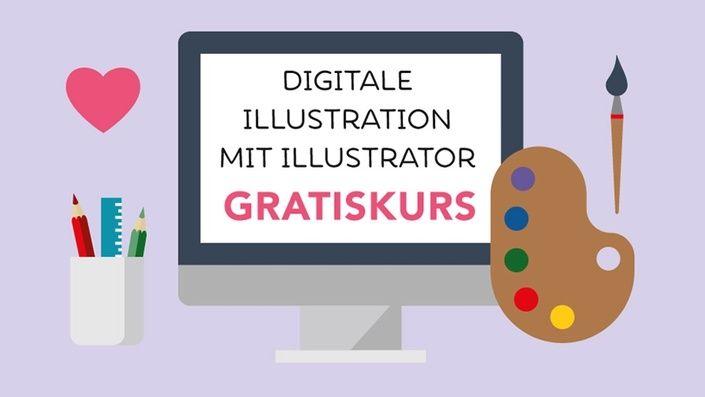 Willst Du Mit Adobe Illustrator Illustrieren Mach Mit Beim Gratis