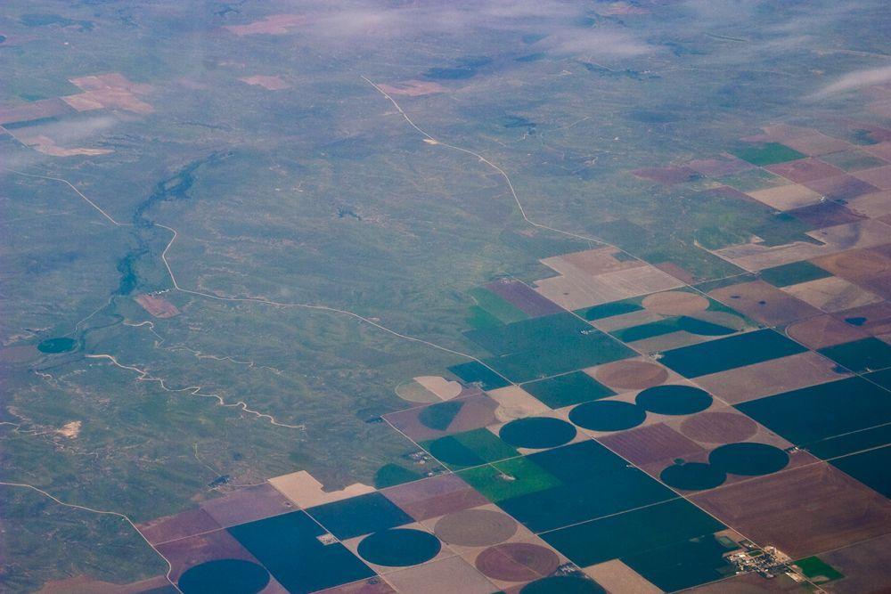 Circles on the plains