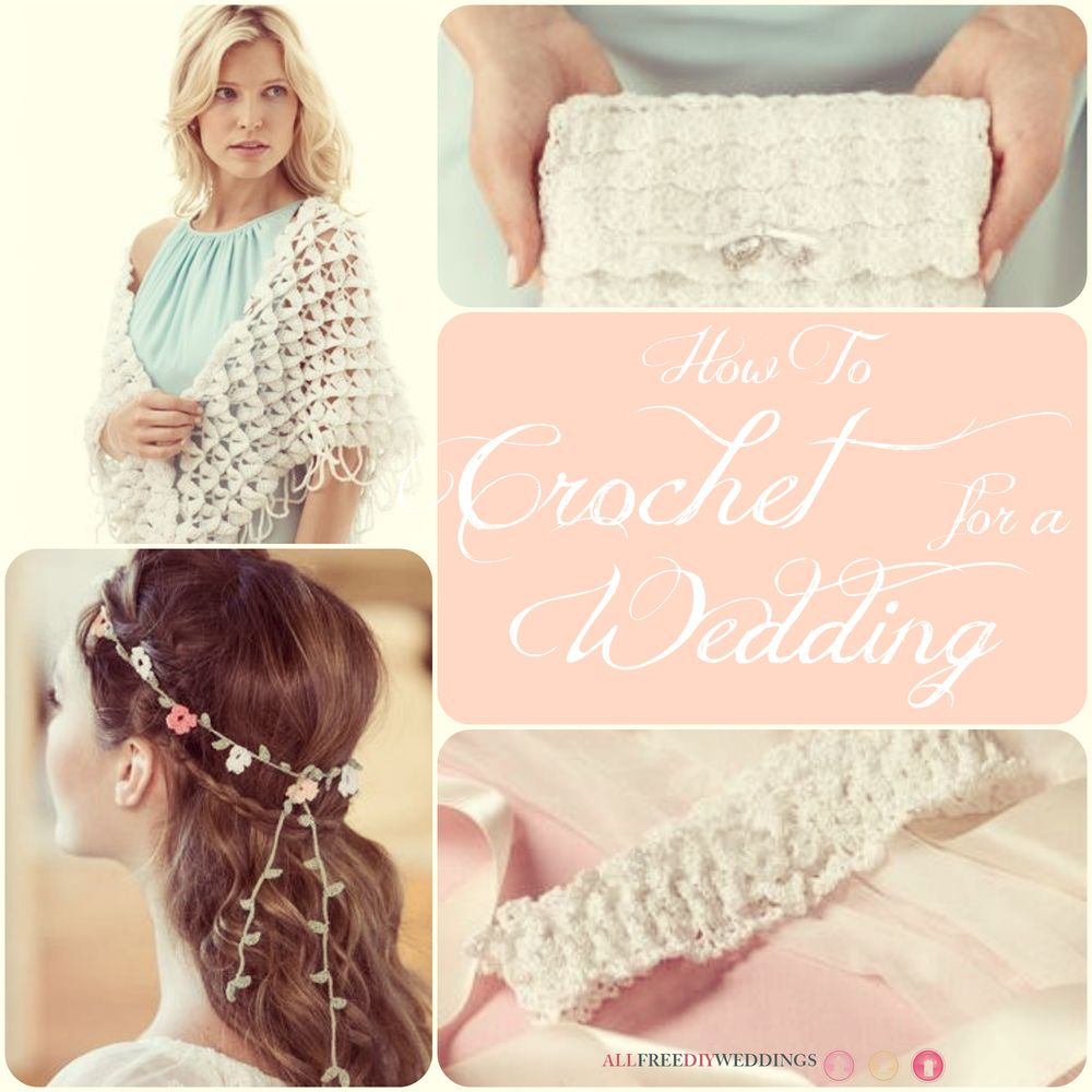 60+ Free Crochet Patterns: How to Crochet for a Wedding   Pinterest ...