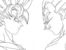 Dragon Ball Z Coloring Pages Broly Beautiful 80 Our Favorite Free ... | 210x280