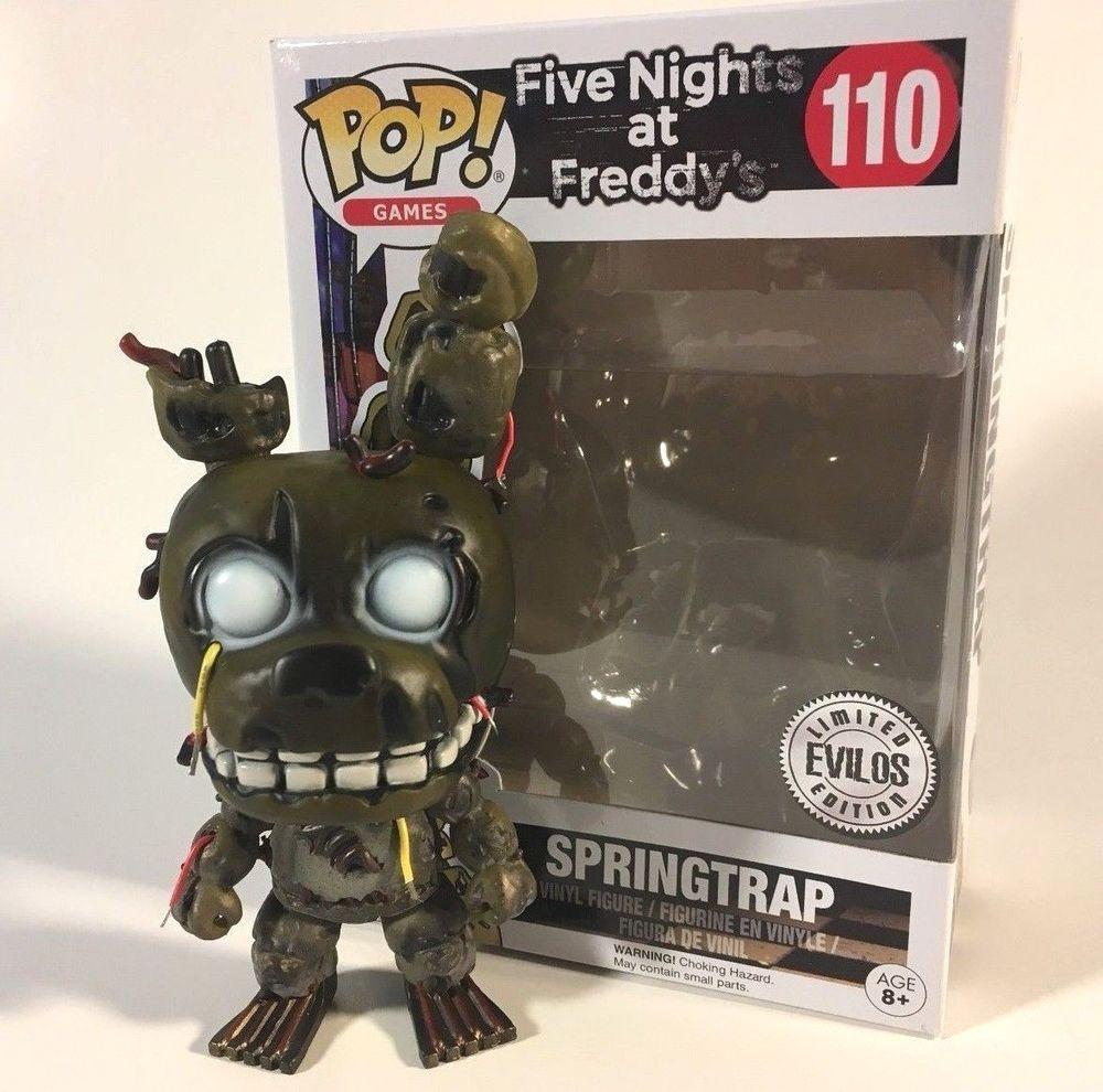 FIVE NIGHTS AT FREDDY/'S Personnage PHANTOM Foxy Funko POP
