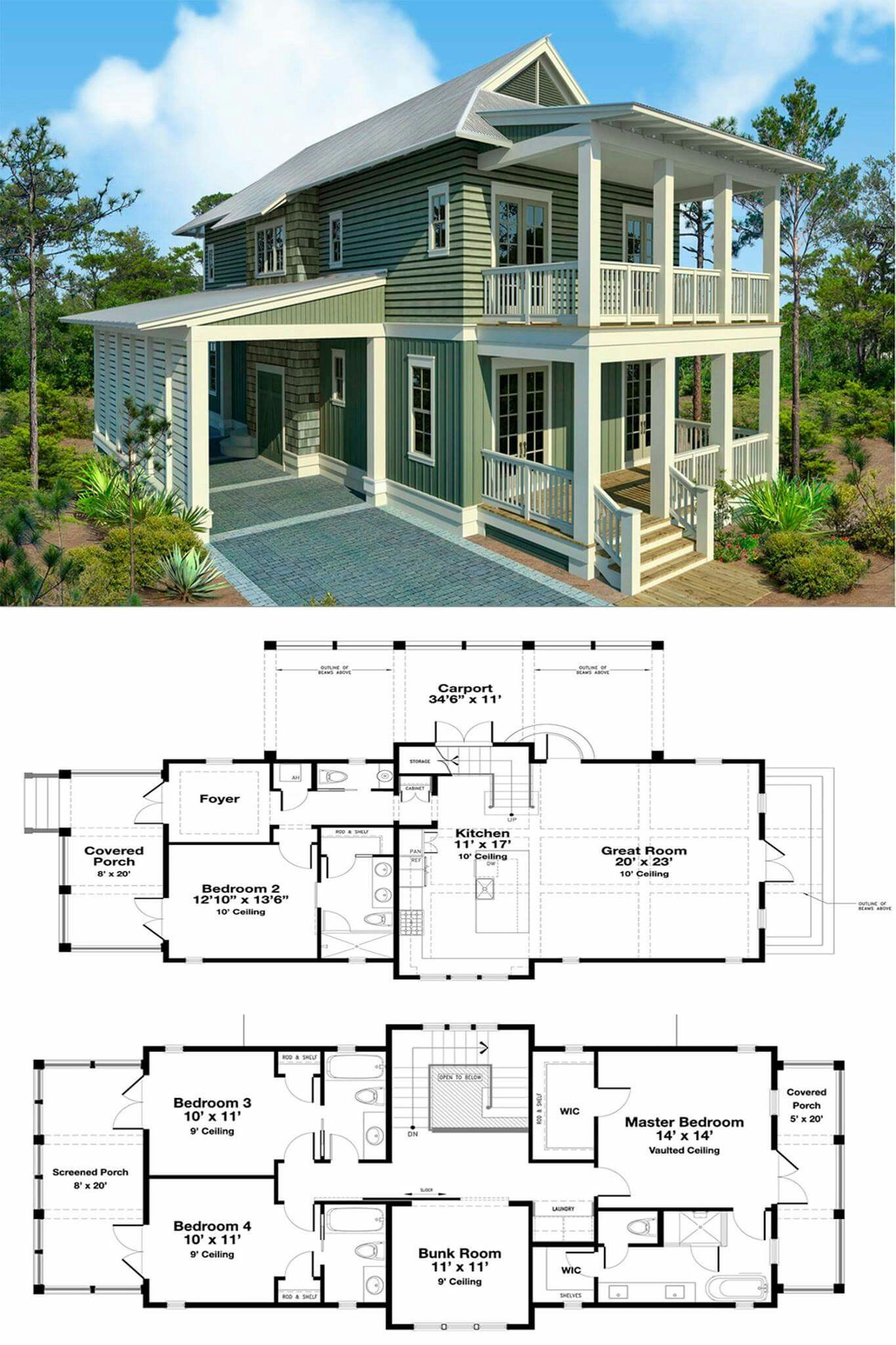 I Like This Plan Overall It Seems Very Unique To Me What I Would Change Would Be To Take Out Th Beach House Flooring Beach House Floor Plans Sims House Plans