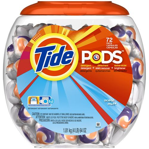 Household Essentials Tide Pods Tide Detergent Scented Laundry