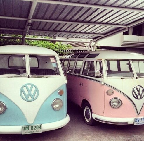 Car - volkswagen - van - bus - camper - oldtimer #volkswagen