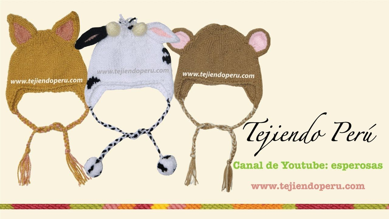 Gorros con orejas de animalitos para bebes y niños | KAPE I KAPICE ...
