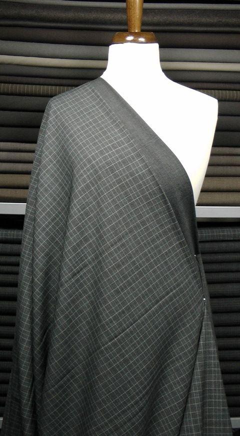 Kostýmovka šedá s černou kostičkou  40c62e3f3d