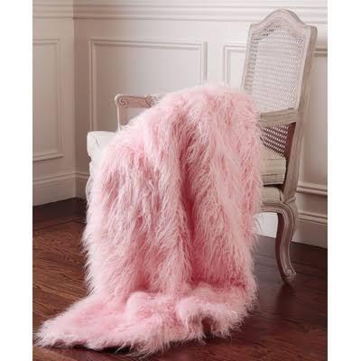 Light Pink Blanket Pink Throw Blanket Faux Fur Throw Faux Fur Throw Blanket