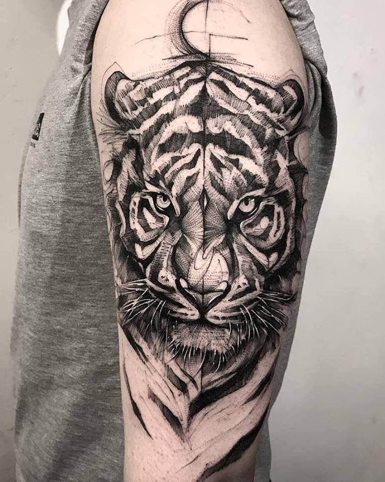 Tiger tattoo 13