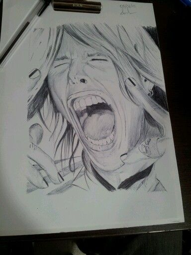 realistic, Steven Tyler with bic