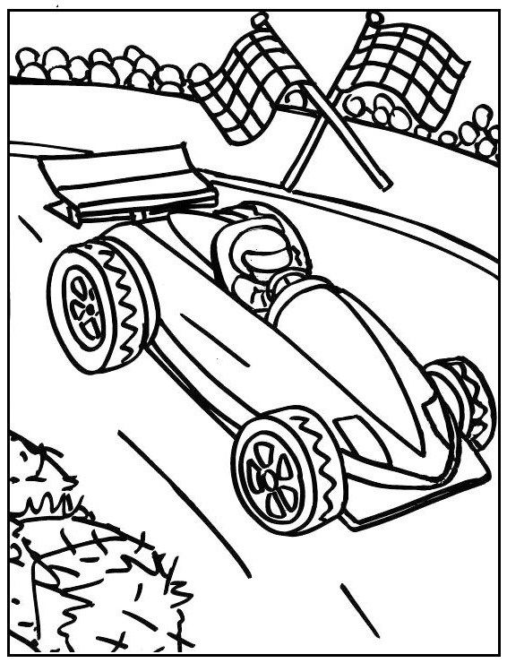 Formula 1 Coloring Picture Printable Race Car Coloring Pages Cars Coloring Pages Coloring Pages