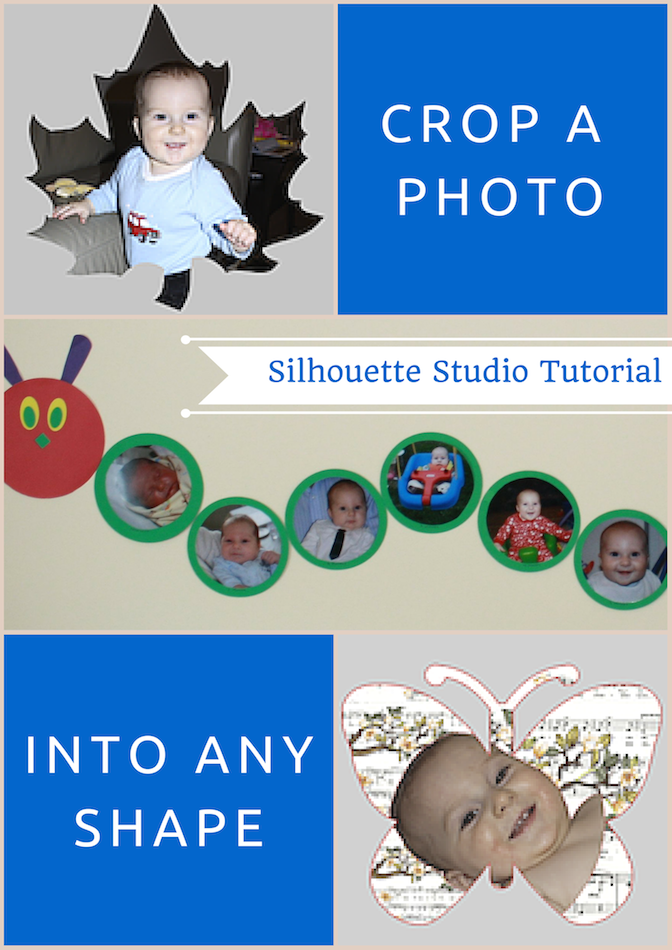 crop a photo into any shape silhouettes shapes and learning