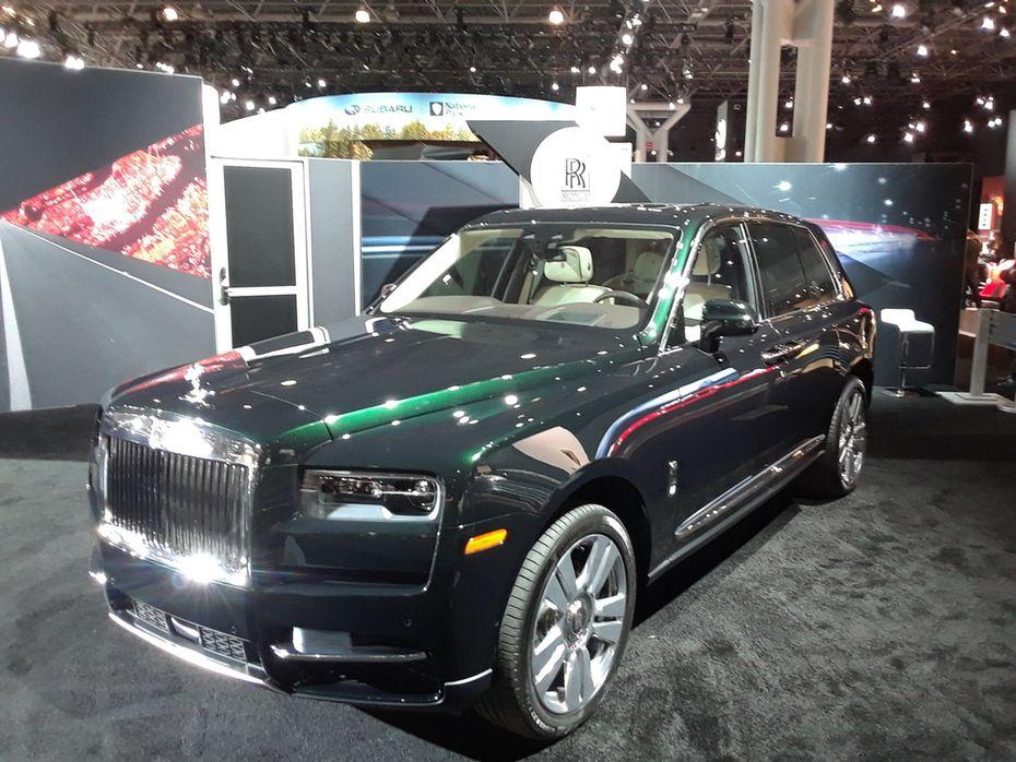 Auto Show Calendar 2019 New York International Auto Show 2019 Rolls Royce Cullinan
