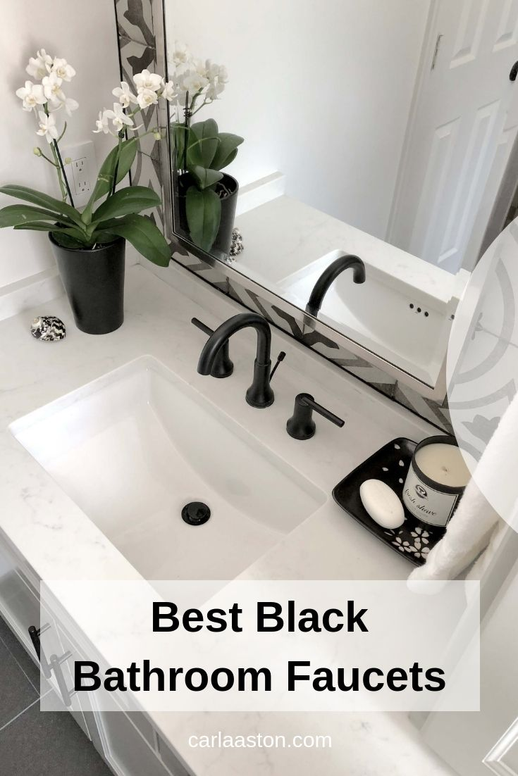 Photo of Best Black Bathroom Faucets And Fixtures For The Best Bath Ever! — DESIGNED